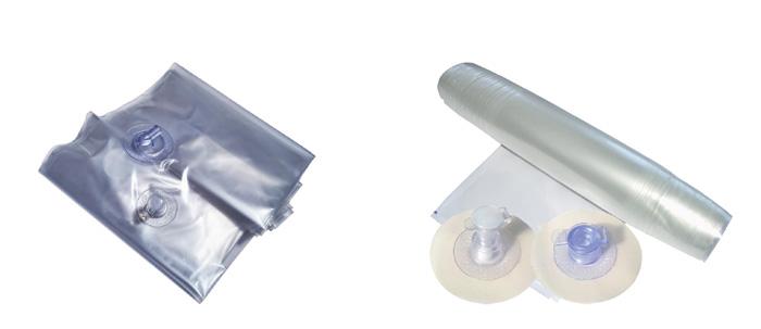 Заготовки передних и поперечных баллонов для кайта